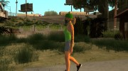 Female GTA Online Grove Style for GTA San Andreas miniature 8