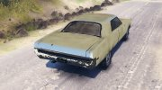 Plymouth Fury III for Spintires 2014 miniature 3