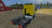 MAN TGS with Strobe Light v 2.5 для Farming Simulator 2013 миниатюра 6
