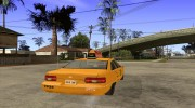 Chevrolet Caprice Taxi 1991 for GTA San Andreas miniature 4