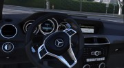 2014 Mercedes-Benz C63 AMG W204 1.0 for GTA 5 miniature 3
