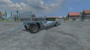 Lowloader Trailer for Farming Simulator 2013 miniature 1