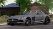 Mercedes-Benz SLS AMG Black Series 2013 для GTA San Andreas миниатюра 8