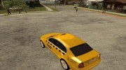 Skoda Superb TAXI cab for GTA San Andreas miniature 3