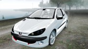 Peugeot 206 1.6 XT 2001 for GTA 4 miniature 1