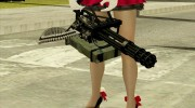 Minigun China Wind для GTA San Andreas миниатюра 1