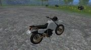 Kawasaki KLR650 for Farming Simulator 2015 miniature 7