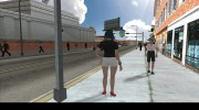 Female Player Animations PED.IFP для GTA San Andreas миниатюра 6