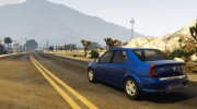 2008 Dacia Logan v2.0 FINAL for GTA 5 miniature 6