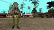 GGO Sinon for GTA San Andreas miniature 2
