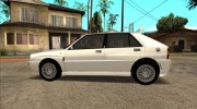 Lancia Delta HF Integrale Evoluzione II for GTA San Andreas miniature 16