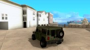 Hummer H1 for GTA San Andreas miniature 3