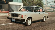 ВАЗ-2107 Lada Riva v1.2 for GTA 5 miniature 1