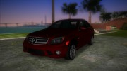 Mercedes-Benz C63 (AMG) 2010 for GTA Vice City miniature 1