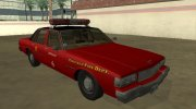 Chevrolet Caprice 1987 Chicago Fire Dept for GTA San Andreas miniature 2