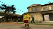 Футболка Роллтон for GTA San Andreas miniature 3