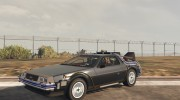 DeLorean DMC-12 for GTA 5 miniature 1