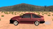 Toyota Corolla 1986 Levin for GTA San Andreas miniature 2