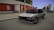 BMW E28 525e for GTA San Andreas miniature 1