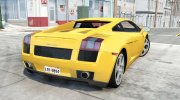Lamborghini Gallardo 2005 for BeamNG.Drive miniature 3