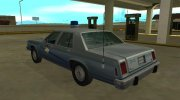 Ford LTD Crown Victoria 1987 Kentucky State Police for GTA San Andreas miniature 4