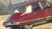 Citroen DS21 for GTA 5 miniature 3