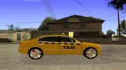 Skoda Superb TAXI cab for GTA San Andreas miniature 5