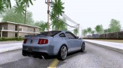 Ford Mustang Shelby GT500 для GTA San Andreas миниатюра 3