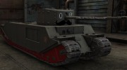 Mustachioed TOG II* skin for World Of Tanks miniature 1
