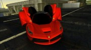Ferrari LaFerrari F70 for GTA Vice City miniature 3