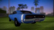 Dodge Charger 1967 for GTA Vice City miniature 4