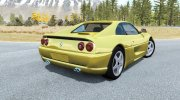 Ferrari F355 Berlinetta 1994 for BeamNG.Drive miniature 2