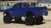 2003 Dodge Ram SRT 10 Offroad Version for GTA 5 miniature 3