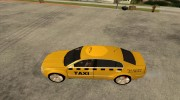 Skoda Superb TAXI cab for GTA San Andreas miniature 2