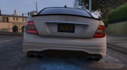 2014 Mercedes-Benz C63 AMG W204 1.0 for GTA 5 miniature 9