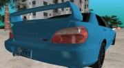 Subaru Impreza 2.0 WRX STI for GTA Vice City miniature 7