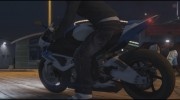 BMW HP4 for GTA 5 miniature 9