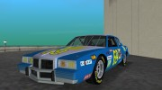 1981 Pontiac GranPrix Hotring for GTA Vice City miniature 1