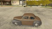 Ford Coupe 1946 Mild Custom для GTA San Andreas миниатюра 2