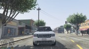 Range Rover Supercharged 2012 для GTA 5 миниатюра 8