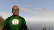 Green Lantern - Franklin 1.1 for GTA 5 miniature 5