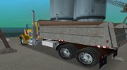 Peterbilt 359 Dumper for GTA Vice City miniature 9