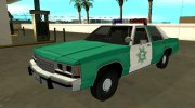 Ford LTD Crown Victoria 1991 San Diego County Sheriff for GTA San Andreas miniature 1