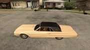 Ford Thunderbird 1964 for GTA San Andreas miniature 2