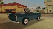 Trabant 601 Custom for GTA Vice City miniature 3