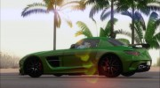 Mercedes-Benz SLS AMG Black Series 2013 для GTA San Andreas миниатюра 11