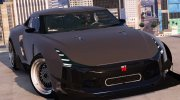 Nissan GT-R50 Custom for GTA 5 miniature 3