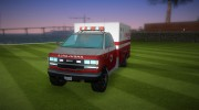 Ambulance from GTA IV for GTA Vice City miniature 1