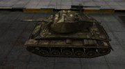 Простой скин M24 Chaffee for World Of Tanks miniature 2
