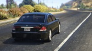 BMW 760i (e65) for GTA 5 miniature 6